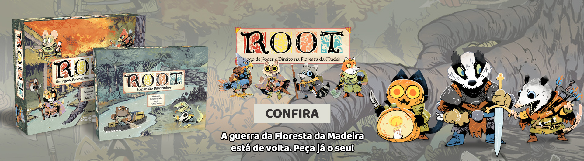 Root de volta