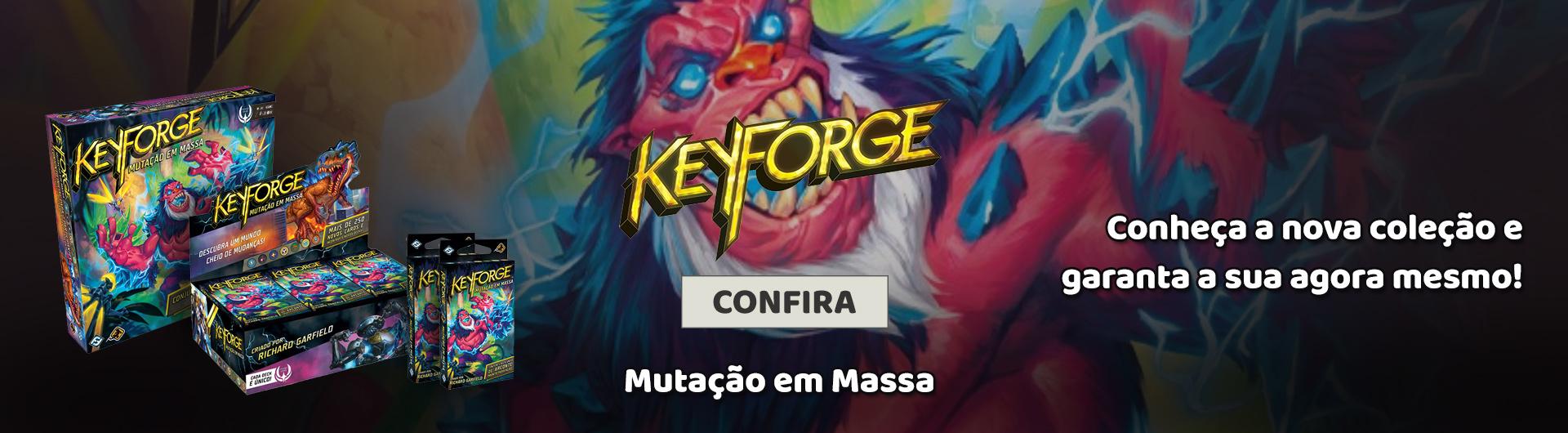 Keyforge Mutação em Massa