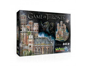 A Game of Thrones - Quebra Cabeça 3D - Red Keep