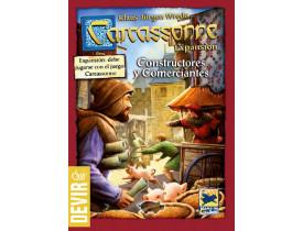 Carcassonne Comerciantes e Construtores 2º Edição
