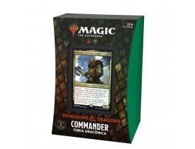 Magic Commander - Aventuras em Forgotten Realms - Fúria Dracônica (Portugês)