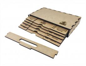 Kit Dashboard para Mansions of Madness (5 Unidades) - COM CASE
