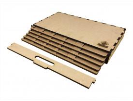 Kit Dashboard para Senhor dos Anéis Jornadas na Terra Média (5 unidades) - COM CASE
