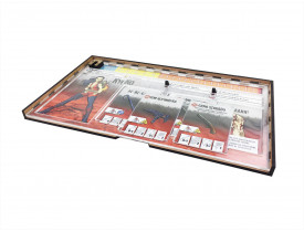 Kit Dashboards para Zombicide Premium (6 Unidades) - Com Case