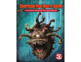 Aventuras para D&D 5ª Ed. #11: O Refúgio Perdido do Arquimago