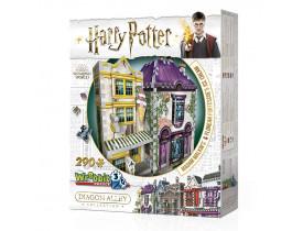 Harry Potter Quebra-Cabeça 3D - Madame Malkin e Florean