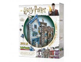 Harry Potter Quebra-Cabeça 3D - Olivaras e Scribbulus