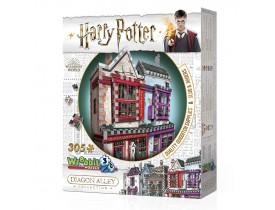 Harry Potter Quebra-Cabeça 3D - Quadribol e Apotecário