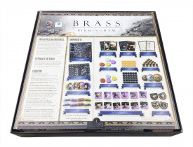 Organizador (insert) para Brass Birmingham