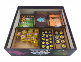 Organizador (Insert) para Duelosaur Island - Kickstarter