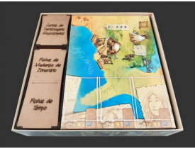 Organizador (insert) para Lewis & Clark: A Expedição