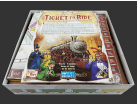 Organizador (insert) para Ticket to Ride