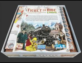 Organizador (insert) para Ticket to Ride Europa