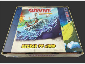 Organizador (Insert) para Survive: Fuga de Atlântida (Edição de 30 Anos)
