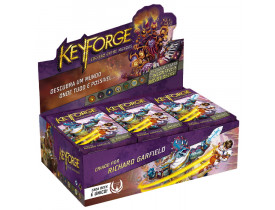 KeyForge Deck Display - Colisão Entre Mundos + Sleeves de Brinde