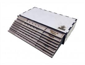 Kit Dashboard (painel) para Eldritch Horror com 8 Unidades - COM CASE