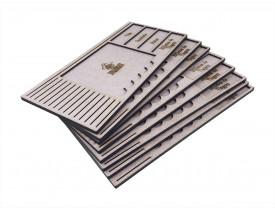 Kit Dashboard (painel) para Eldritch Horror com 8 Unidades - SEM CASE
