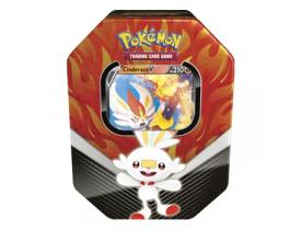 Lata Pokémon Cinderace V Parceiros de Galar