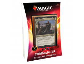 Magic Commander - Regimento Impiedoso - Jirrina Kudro