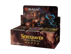 Magic The Gathering: Draft Booster Box Strixhaven - Escola de Magos (Português)