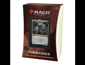 Magic Commander 2021 - Declaração de Platinopena - Breena - Strixhaven