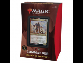 Magic Commander 2021 - Legados de Sapioforte - Osgir - Strixhaven