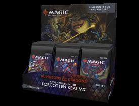 Magic - Adventures in the Forgotten Realms - Caixa de SET booster (INGLÊS)