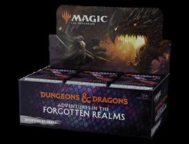 Magic - Adventures in the Forgotten Realms - Caixa de Booster de Draft