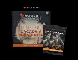 Magic - Innistrad: Caçada à Meia-noite - Pacote de Pré-lançamento (Português) + 2 boosters de brinde
