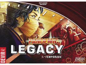 Pandemic Legacy Season 1 Vermelho