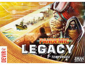 Pandemic Legacy Season 2 Amarelo