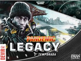 Pandemic Legacy Season 2 Preto