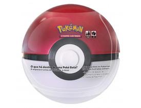 Pokémon Porta Cards Poké Bola Lata Vermelha