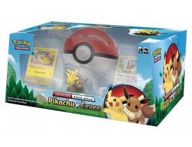 Pokémon Coleção Poké Bola Pikachu e Eevee