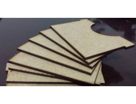 Kit com 10 Separadores para Caixa Organizadora Card Games
