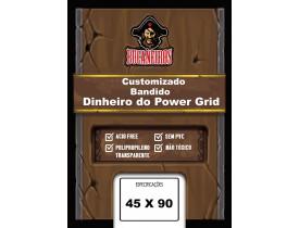 Sleeve Bucaneiros Bandidos / Dinheiro Power Grid (45x90mm)