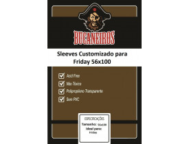 Sleeve Bucaneiros Friday (56x100mm)