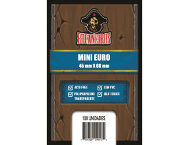 Sleeve Bucaneiros Mini Euro (45x68mm)