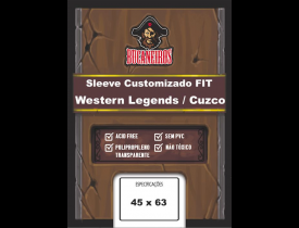 Sleeve Bucaneiros FIT para Western Legends / Cuzco (45x63)