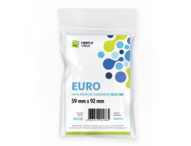 Sleeve Blue Core Meeple Virus Euro