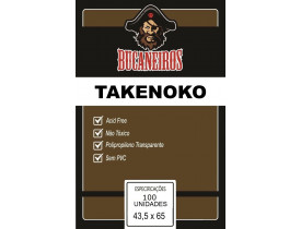 Sleeve Bucaneiros Takenoko (43,5x65mm)