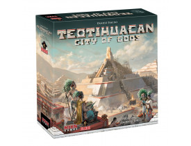 Teotihuacan City of Gods - Com Insert