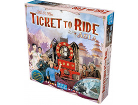 Ticket to Ride Ásia - Expansão