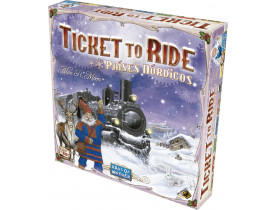 Ticket to Ride Países Nórdicos - Jogo Base