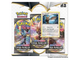 Triple Pack Pokémon Noctowl Espada e Escudo 2 Rixa Rebelde