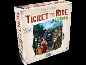 Ticket to Ride Europa - Edição de 15 anos