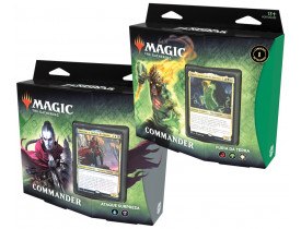 Magic Zendikar Kit de Commander Deck com 2